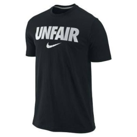 nike unfair shirt